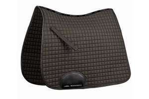 Weatherbeeta Supreme Dressage Full Size Saddle Pad - Black