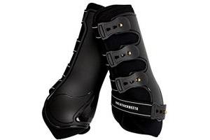 Weatherbeeta Hard Shell Dressage Boots Black Full
