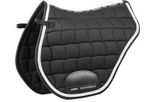 WeatherBeeta Performance Cross Country Saddle Pad Soft Durable Suede Wick Away