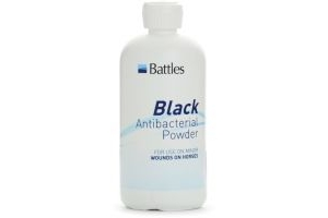 Battles Black Anti-Bacterial Powder125g