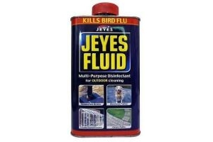 Jeyes Fluid 1 Litre Powerful Multipurpose Cleaner And Disinfectant Garden Use
