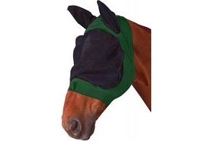 Roma Stretch Eye Saver With Ears Hunter/Black Pony