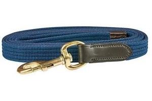 Kincade Leather Web Lead Rein-Navy