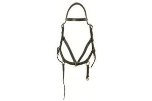 RAMBO Horseware Ireland Micklem Multi Bridle (Black, Large Horse)