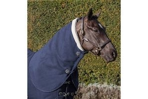 LeMieux Unisex's Four Seasons Neck Cover, Navy, Medium