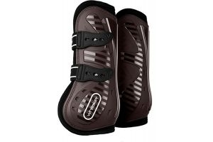 John Whitaker Bingley Tendon and Fetlock Boots Full Size Brown