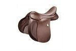 Bates All Purpose Saddle Heritage Leather With Cair - Classic Brown - 43cm