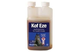 NAF Kof-Eze - Minimises Cough Reflex in Horses 500ml FREE P&P