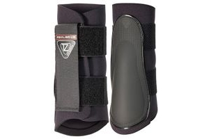 equilibrium Tri-Zone Brushing Boots - Black, Small