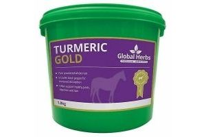 Global Herbs Turmeric Gold Horse Supplement - 1.8kg