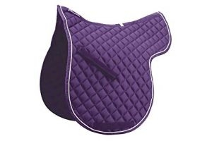 Roma Grand Prix High Wither All Purpose Numnah (Pony) (Purple/White)