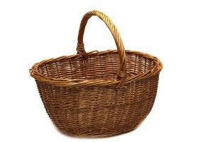 Supreme Products Whicker Grooming Basket