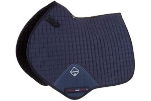 LeMieux ProSport Suede Close Contact Square Saddle Pad Navy