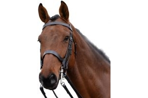 Kincade Show Weymouth Bridle Black
