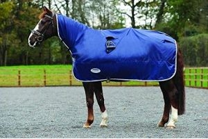 Weatherbeeta Rain Sheet - Navy/Grey/White - Cob