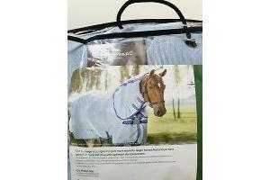 Horseware Amigo XL Bug Rug For Larger Horses Azure Blue 7'3