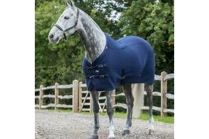 LeMieux Thermo Cool Cooler Rug navy blue size 5'6