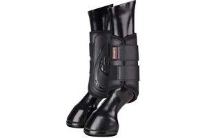 LeMieux Unisex's Proshell Brushing Boots, Black, Medium