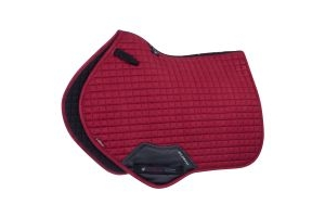 LeMieux ProSport Suede Close Contact Square Saddle Pad Mulberry