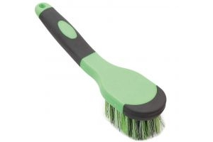 Shires Ezi-Groom Bucket Brush Green