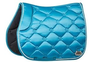 Weatherbeeta Regal Luxe Full Size All Purpose Saddle Pad - Turquoise Duke