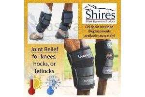 HOT/COLD JOINT RELIEF GEL NEOPRENE HORSE BOOTS   Shires Arma Hock Knee & Fetlock