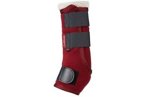 LeMieux Unisex's Four Seasons Leg Wraps, Burgundy, Large