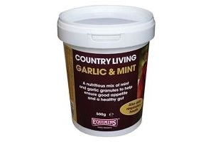 Equimins Garlic And Mint Granules 500g - Country Living