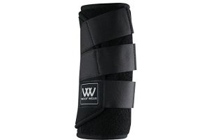 Woof Wear Dressage Wraps - Black, Medium