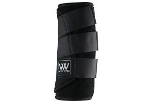 Woof Wear Dressage Wraps - Black, Medium