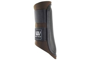 Woof Wear Club Brushing Boot - Chocolate/Black, Large