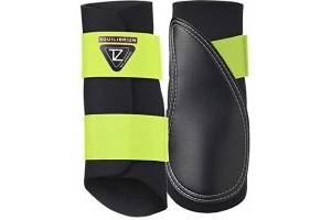 equilibrium Tri-Zone Brushing Boots -Black Yellow