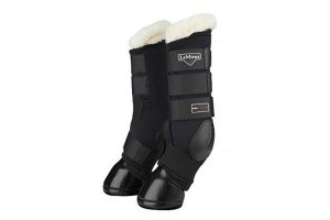 LeMieux Stable Protector Boots Black Small