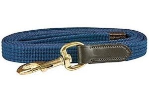 Kincade Leather Web Lead Rope (2m) (Navy/Brown)