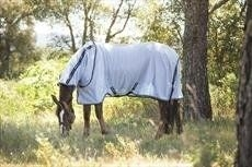 Horseware Amigo Bug Rug-Silver with Navy 6'6