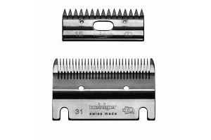 Heiniger Horse Clipper Medium / Standard Blades (Cutter and Comb) 2.4mm, Xplorer