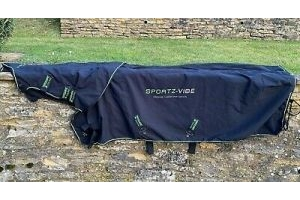 Horseware SPORTZ-VIBE Massage Therapy HORSE RUG Sheet Large
