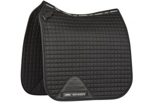 WeatherBeeta Prime Dressage Saddle Pad Black