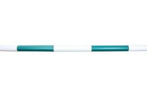 Classic Showjumps 5 Band Jump Pole Green