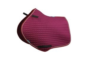 Griffin Nuumed High Wither Close Contact Saddle Pad Purple Passion