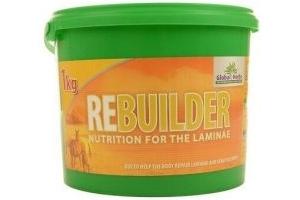 SALE Global Herbs Rebuilder-1kg - Free P&P Horse Supplement - feeding muscle