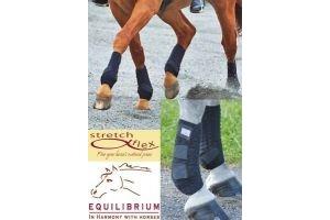 equilibrium Stretch and Flex Training Wrap - Black, Small