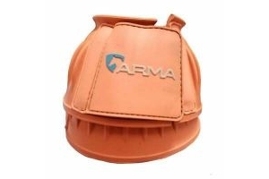Shires ARMA Touch Close Over Reach Boots - Orange, Pony