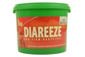 GLOBAL HERBS DIAREEZE 1KG SUPPORT SUPPLEMENT
