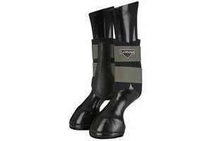 LeMieux Unisex's ProSport Grafter Brushing Boots Pair Olive, Small