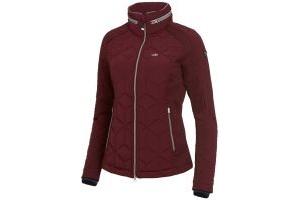 Schockemohle Ladies Stefania Quilted Tech Jacket Merlot