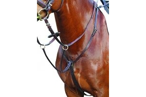 Kincade Hunter Full Breastplate, Brown