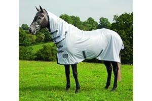 Shires Tempest Fly Rug Sheet Combo Fixed neck Turnout 6'9