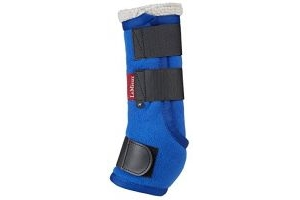 LeMieux Unisex's Four Seasons Leg Wraps, Benetton Blue, Small