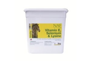 NAF - Vitamin E, Selenium & Lysine Horse Feed Supplement x 3 Kg